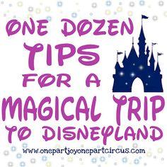 Planning a trip to Disneyland??