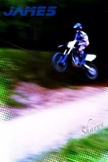 Catching some air time with James.M