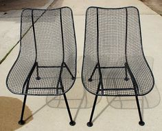 Details About Vintage Set Wrought Iron U0026 Wire Mesh Metal Nesting Tables  Patio Stands Salterini | Wire, Wire Mesh And Mesh