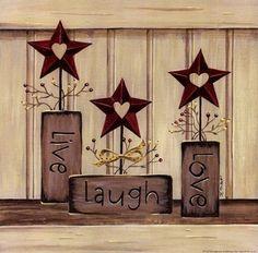 Live, Laugh, Love - Poster by Karen Tribett (10 x 10) by Sagebrush Fine Art, http://www.amazon.com/dp/B0072NNJHY/ref=cm_sw_r_pi_dp_sEI5qb1GWDZYW