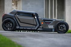 Sbarro Eight Hotrod Concept 3.2 liter twin turbo Masserati V8 engine that turns out 368 horsepower
