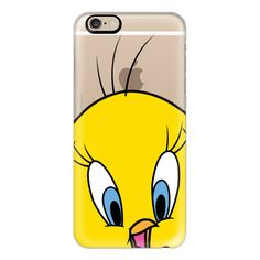 iPhone 6 Plus/6/5/5s/5c Case - Tweety Bird Portrait ($40) ❤ liked on Polyvore featuring accessories, tech accessories, electronics, iphone case, technology, iphone cover case, bird iphone case and apple iphone cases