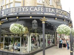 Betty's Tea Rooms, Harrogate - my training ground as a student when I was 18 and part of my inspiration.