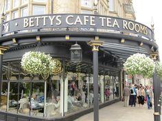 Bettys Tea Rooms Harrogate.