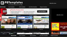 Top Sites for Premium and Custom Blogger Templates