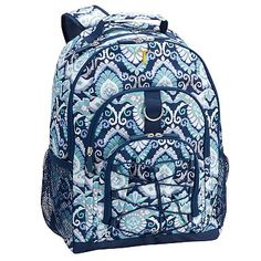 Gear-Up Navy Deco Medallion Backpack #pbteen