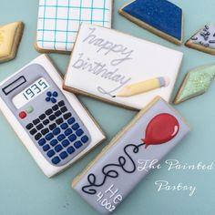 math/science cookies