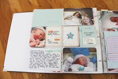 Project Life Tuesday – Jack's Baby Album Part 1 _________________________________ she used BH baby boy cards