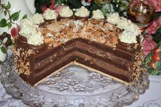 Cointreau-Mandel-Trüffel-Torte