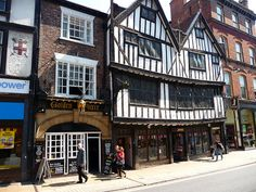 The Golden Fleece pub in York, UK ... apparently the most haunted pub in York!  I didn't see any ghosts but I did have a delicious Sunday night roast dinner, complete with Yorkshire pudding!