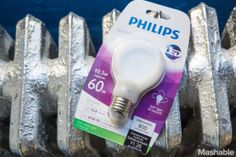 Philips is taking light bulb design in a new, flatter direction.