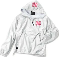 tinytulip.com - Double Monogrammed Pullover Wind Jacket , $48.50 (http://www.tinytulip.com/double-monogrammed-pullover-wind-jacket)