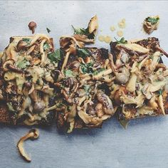 If you thought avocado was the ultimate toast topper wait until you try this mushroom version.  Tap the link in our bio for the recipe ( 2 more!) from Venices @gjelinarestaurant's new cookbook.  #iamwellandgood by wellandgoodnyc