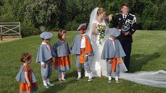 enfants d honneur beret cape empire