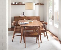 I want all of my furniture to be mid-century modern and American-made. Love Room & Board.