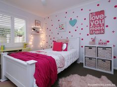 Pretty funky in pink! @ 11 Depazzi Place, Lakehaven #fitzre #fitzgallery #fitzgalleryKids