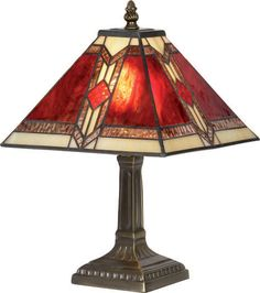 beautiful red ~ seen at http://www.stained-glass-studio.co.uk/Red%20Aztec%20tiffany%20lighting%20range.htm