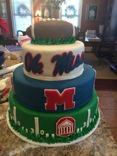 Ole Miss grooms cake