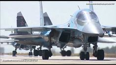 Magnificent Russian Sukhoi Su 34 and TU 154 - The Sukhoi Su-34 is a Russian twin-engined twin-seat strike fighter. It is intended to replace the Sukhoi Su-24. The aircraft shares most of its wing structure tail and engine nacelles with the Su-27/Su-30 with canards like the Su-30MKI Su-33 and Su-27M/35 to increase static instability (higher manoeuvrability) and to reduce trim drag. The aircraft has an entirely new nose and forward fuselage with a cockpit providing side-by-side seating for a…