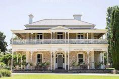 australian colonial houses - Yahoo Search Results Image Search Results- JoBeth Hooter Australian Architecture, Australian Homes, Colonial House Exteriors, Queenslander, Stone Houses, South Australia, House Goals, Victorian Homes, Victorian Era