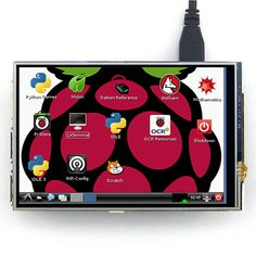 4 inch Touch Screen TFT LCD Designed for Raspberry Pi 2 RPi Model B/B+