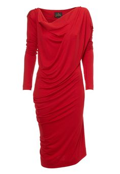 Toga Drape Dress Red via:  www.viviennewestwood.co.uk