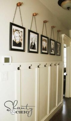 DIY Wall Art ~ Gallery Frames