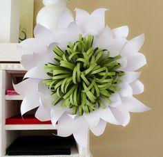 Paper Flower Backdrop, Giant Paper Flower, Wedding Backdrop, Wedding Centerpiece
