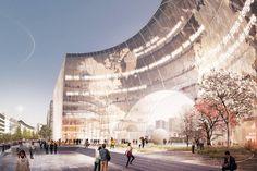proposed scheme for #paris' le monde HQ revealed by @3XN_GXN http://www.designboom.com/architecture/3xn-le-monde-headquarters-paris-proposal-01-21-2015/ … pic.twitter.com/nZWa0OfbLshttps://twitter.com/