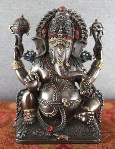 Ganesh is widely revered as the Remover of Obstacles and more generally as Lord of Beginnings and Lord of Obstacles.  Patron of arts and sciences, and the deva of intellect and wisdom. He is honored at the beginning of rituals and ceremonies and invoked as Patron of Letters during writing sessions.