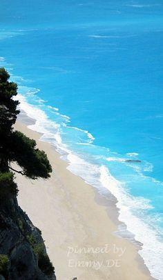 Emmy DE * The White Sands of Lefkas Island, Greece