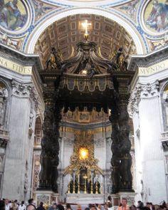 Rome- Vatican Altar