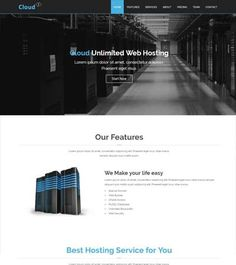 Cloud-Hosting-Free-Template