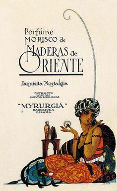 Maderas de Oriente Myrurgia Tipologia: Etiqueta Artista: desconegut Impressor…