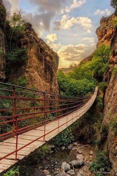 Canyon Bridge, Spain