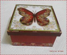 """caixa borboleta """""""