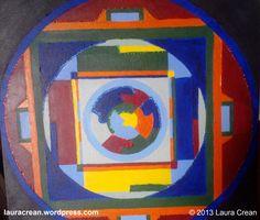 Mandala http://lauracrean.wordpress.com/my-paintings/