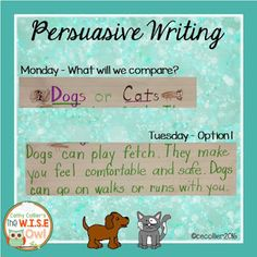 Believe it or not, you can teach persuasive writing in Kindergarten. This post explains how and includes a FREEBIE for you.