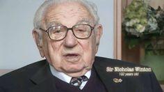 A message from Sir Nicholas Winton. #NickysFamily #Holocaust #Hero #TikkunOlam #HelpingOthers