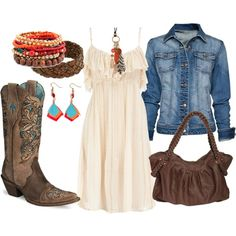 Hobo Cowgirl, created by talisa-wager on Polyvore