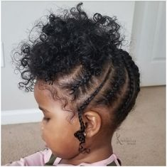Little Girls Natural Hairstyles, Toddler Braided Hairstyles, Little Girl Braid Hairstyles, Kids Curly Hairstyles, Little Girl Braids, Braids For Kids, Girls Braids, Black Baby Girl Hairstyles, Mixed Baby Hairstyles