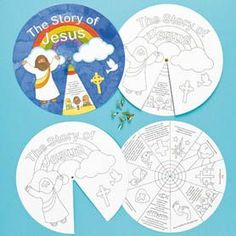 The Life of Jesus Story Wheels: