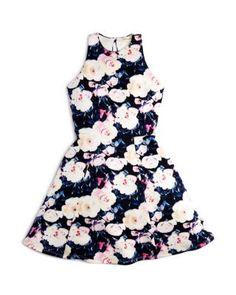 b81b09ab41b Miss Behave Girls  Floral Cutout-Back Dress - Sizes S-XL Kids - Girls -  Girls 7-16 - Dresses   Rompers - Bloomingdale s. 5th Grade Graduation ...