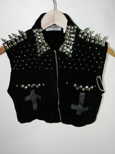 Studs and spikes! Perfect!