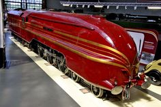 Category:LMS Princess Coronation Class 6229 Duchess of Hamilton (streamlined) at the National Railway Museum