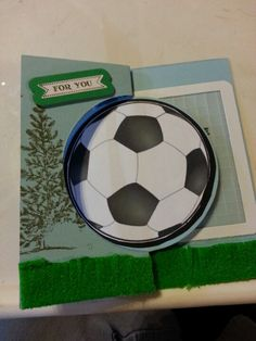 Soccer Flip-its card