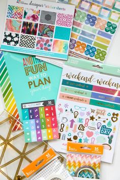 Erin Condren Sticker Savvy Bundle Review