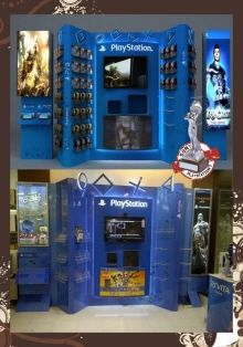 Kiosk, Wall Display and Game zone by Nilesh Shah