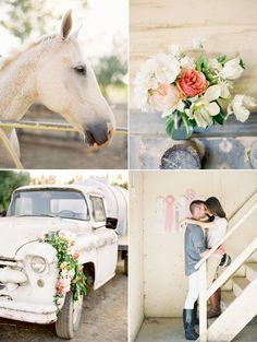 An Equestrian Engagement [by Jose Villa]