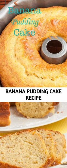 This Banana Pudding Cake is dreamy and luscious! It's extremely moist, tender, and boasts huge banana flavor. This cake is … This Banana Pudding Cake is dreamy and luscious! It's extremely moist, tender, and boasts huge banana flavor. This cake is … Banana Pudding Cake, Banana Pudding Recipes, Cake With Pudding, Cake Mix Banana Bread, Banana Bundt Cake, Just Desserts, Delicious Desserts, Yummy Food, Cake Mix Recipes